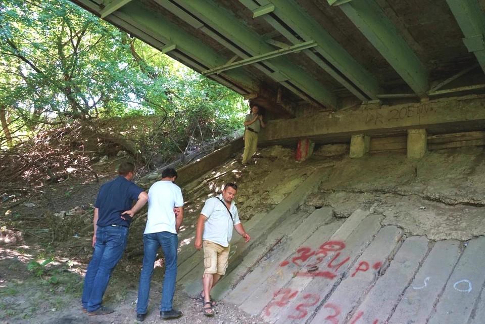 Результаты обследования Колхозного моста в Орле станут известны через 10 дней. Фото: пресс-служба администрации Орла