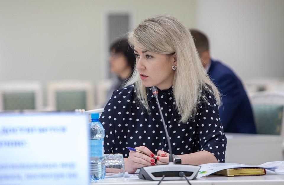 Глава минсоцзащиты региона Ольга Орлова