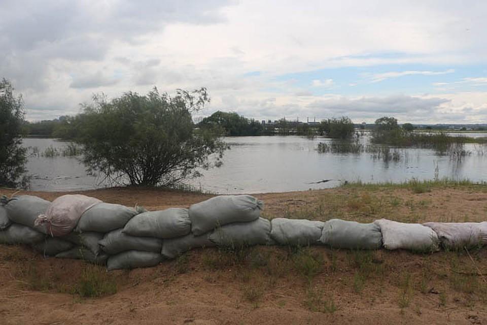 Область находилась во власти «большой воды» с 1 по 11 июля