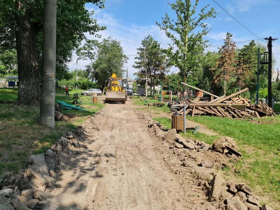 Скоро сквер будет благоустроен. Фото: Facebook (Ion Ceban)