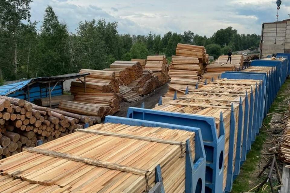 Контрабанду древесины на 150 миллионов рублей в Китай остановили в Иркутской области