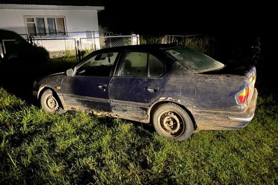 Пьяный 40-лентий водитель автомобиля «Ниссан» без прав при движении задним ходом допустил наезд на 37-летнюю женщину. Фото: УГИБДД УМВД России по Брянской области.