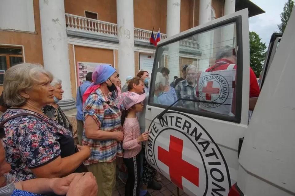 Флоранс Жиллетт передаст нуждающимся жителям гуманитарную помощь