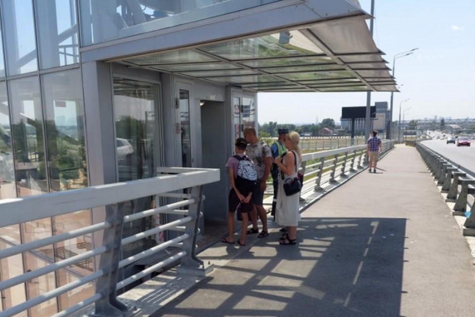Лифты впервые запустили в мае 2018 года. Фото: сайт администрации Ростова