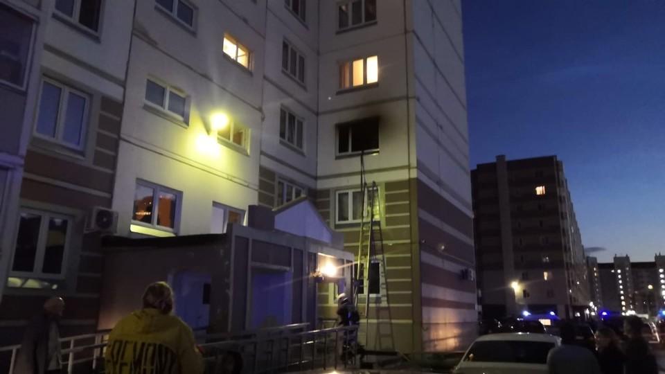 В Ханты-Мансийске из пожара спасено 87 человек Фото: ГУ МЧС России по ХМАО-Югре
