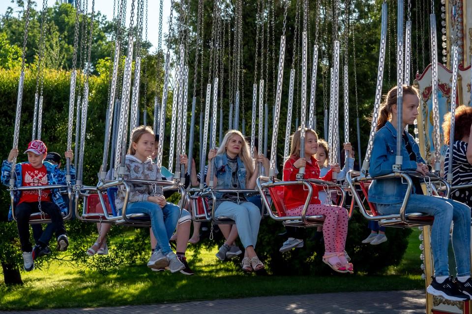 В Петербурге продолжается летняя оздоровительная кампания