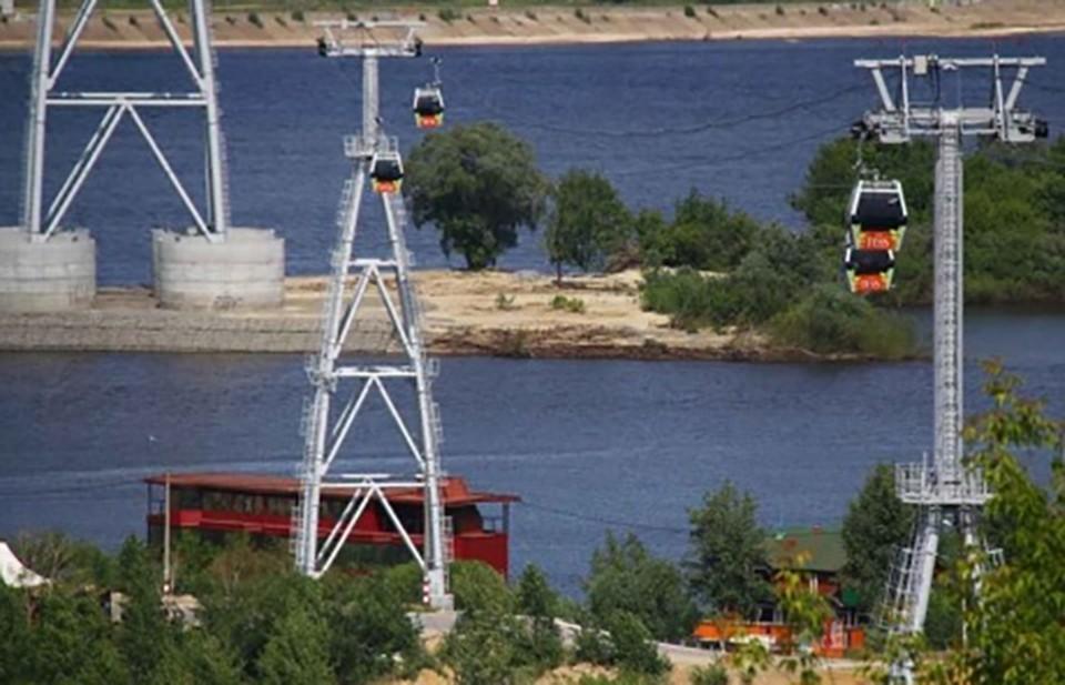 Новая канатная дорога может соединить нагорную и заречную часть Нижнего Новгорода.