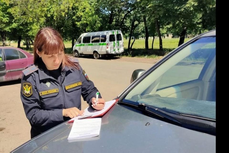 Машину арестовали и выставили на торги. Фото: УФССП России по Ярославской области.