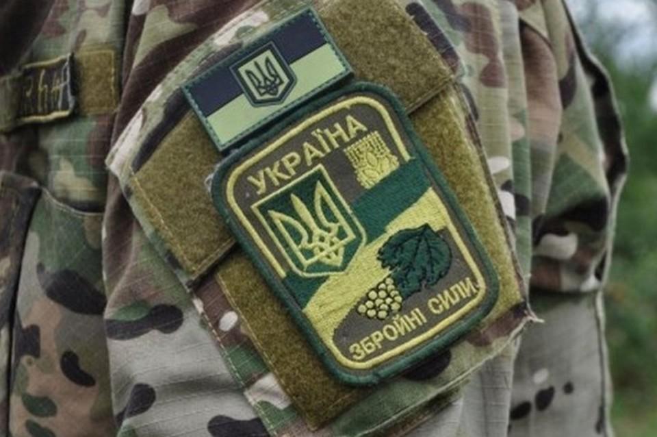 В ЛНР украинские боевики заминировали дорогу и поле. Фото: штаб ООС