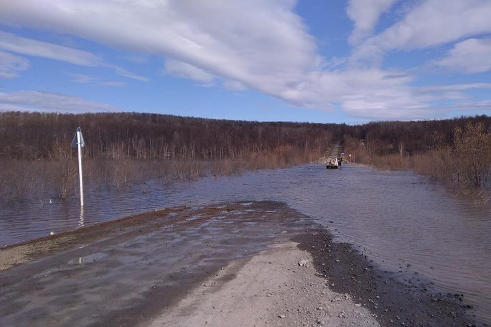 Уровень воды в Амуре начал подниматься рядом с Комсомольском