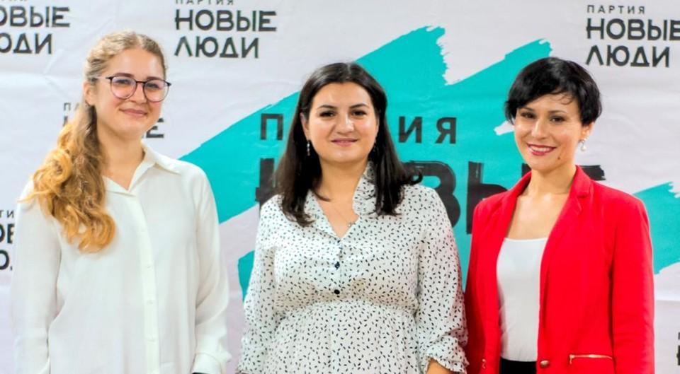 Анна Трофименко, Мария Симикчи и Оксана Лобода.