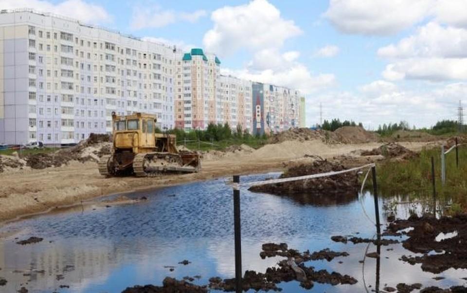 В Нижневартовске построят новую дорогу, которая позволит разгрузить улицы Фото: Администрация Нижневартовска