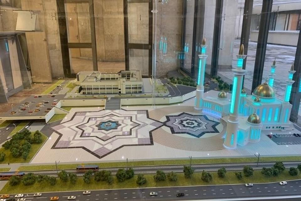 "Эскиз будущей мечети ""Джамиг"". Фото: nabchelny.ru"