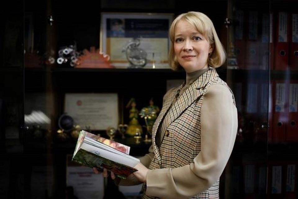 Министр образования Сахалинской области Анастасия Киктева