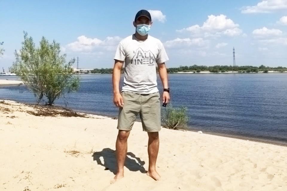 Боец ОМОНа Егор К* Фото: Пресс-служба Росгвардии