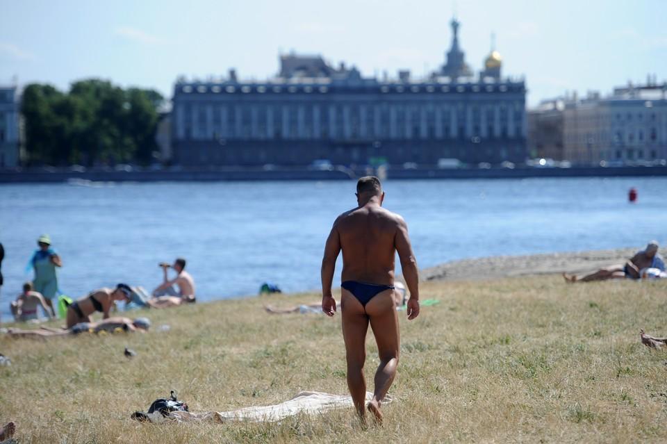 В Петербурге побит очередной рекорд жары.