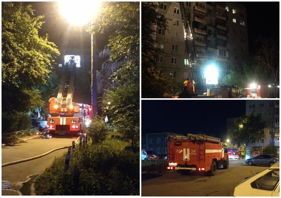 Эвакуировать людей через окна оказалось возможно только с одной стороны отдыха. Фото: ГУ МЧС по Челябинской области