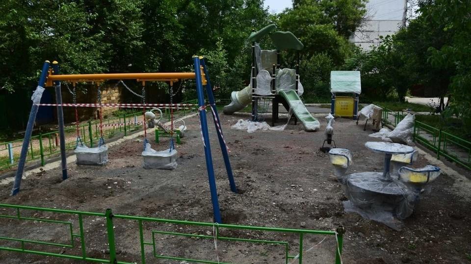 Делиться придворовой территорией в городах не хотят. Фото: пресс-служба администрации города Симферополь