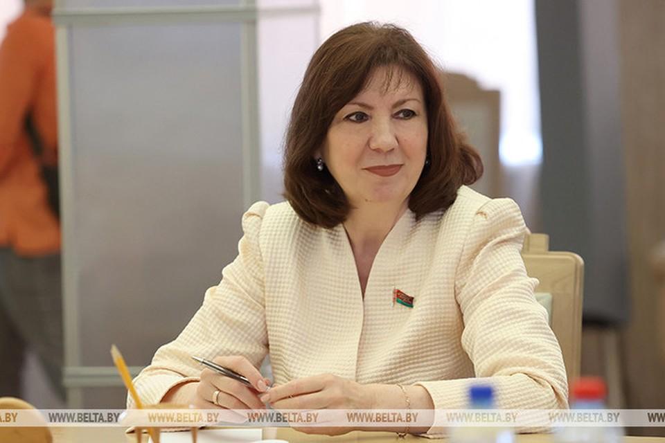 Кочанова заявила, что 1 августа проект Конституции с предложении должны внести на рассмотрение президенту. Фото: БЕЛТА