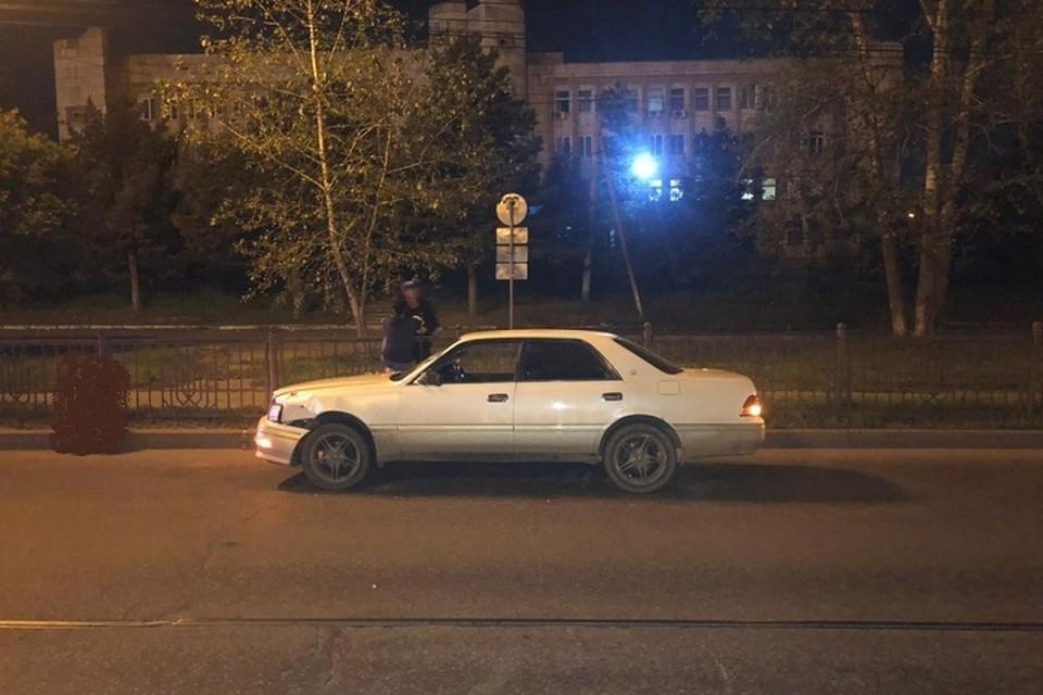 Разрыв внутренних органов и пять переломов: иномарка сбила пешехода в Хабаровске. Фото: Госавтоинспекция Хабаровска.