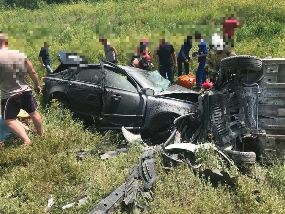 Авария 15 июля в Саратовском районе