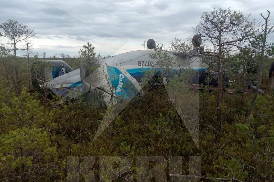 В Томской области совершил жесткую посадку Ан-28. Он летел в областной центр из города Кедровый.
