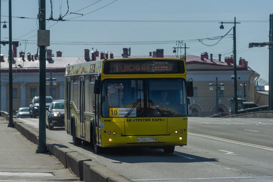 Из-за репетиция парада ВМФ в Петербрге изменится движение общественного транспорта 18 июля