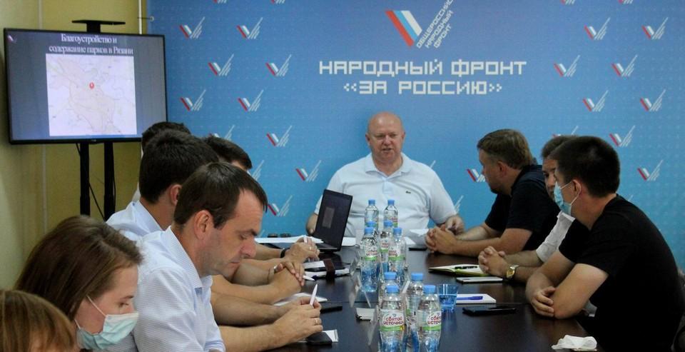 Народофронтовцы решали вопросы, интересующие простых жителей Рязани