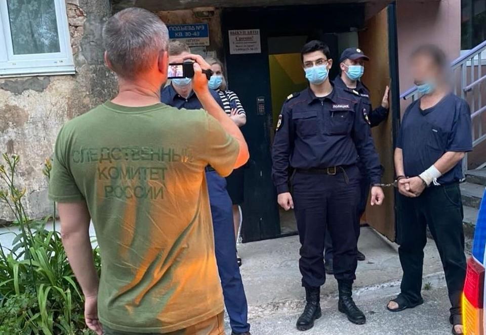 В настоящее время суд избрал в отношении мужчины меру пресечения - заключение под стражу. Фото: СУ СК по Приморскому краю