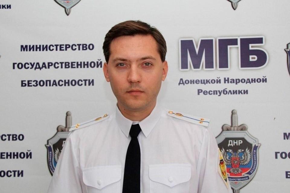 Михаил Попов. Фото: mgbdnr.ru