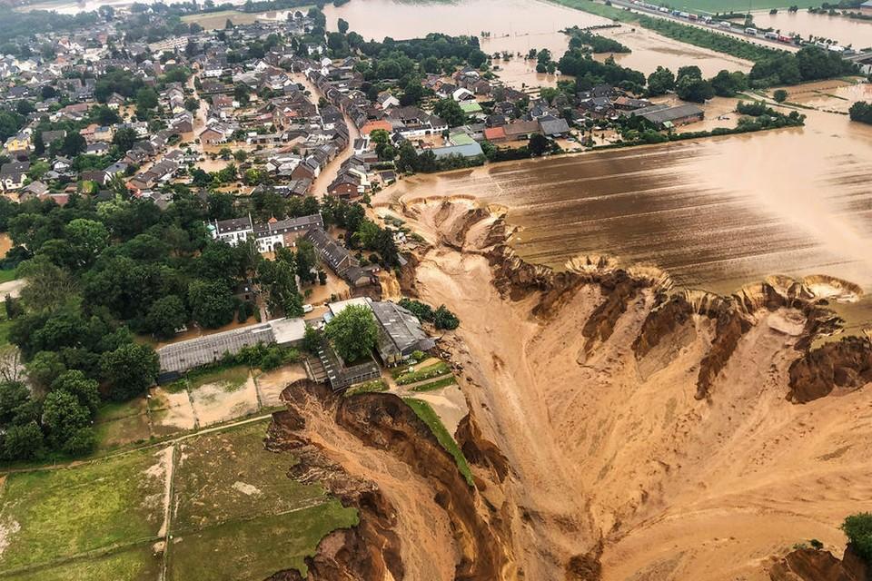 Ждет ли Молдову стихия, которая бушует в Европе? Фото: Rhein-Erft-Kreis/Reuters