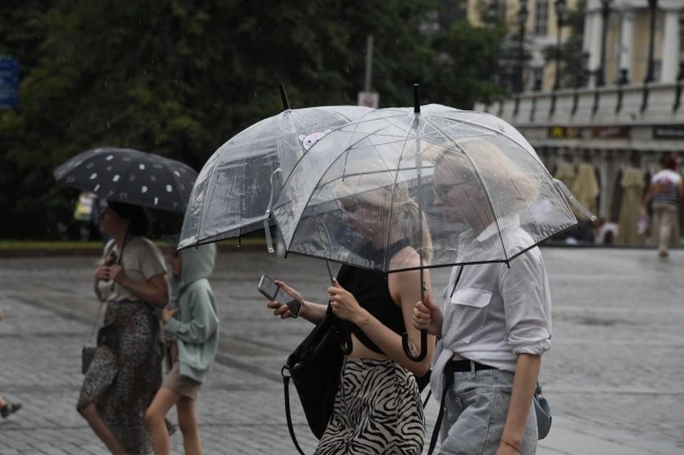 Дожди пройдут лишь на Курилах