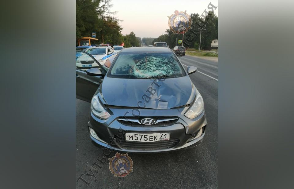 В Туле Hyundai сбил пешехода