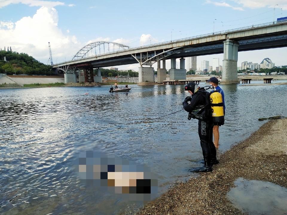 Спасатели в очередной раз убедительно просят не купаться в «диких» местах, особенно в нетрезвом виде.