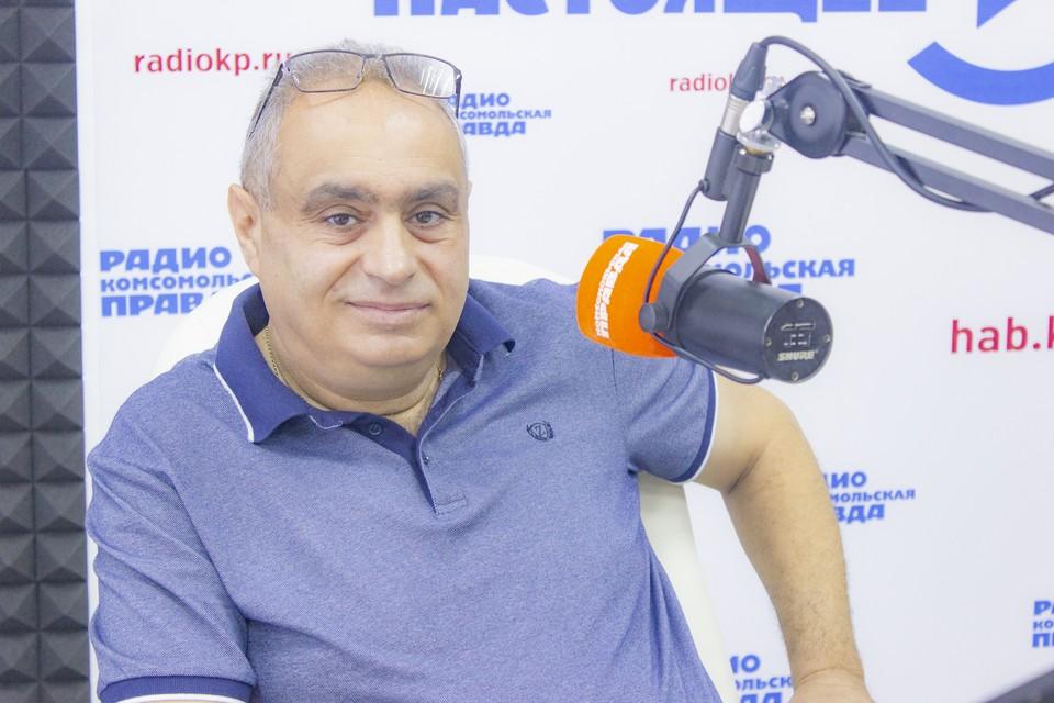 Заместитель председателя регионального объединения общий российского союза армян России в Хабаровске Аветик Галстян.