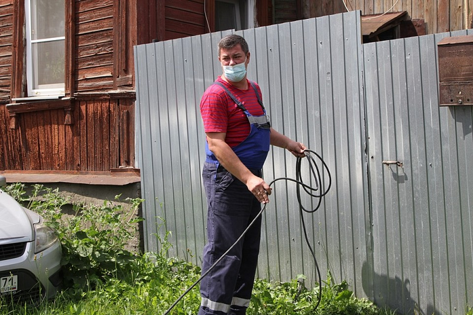 Житель Тулы не пустил газовщиков и остался без газа