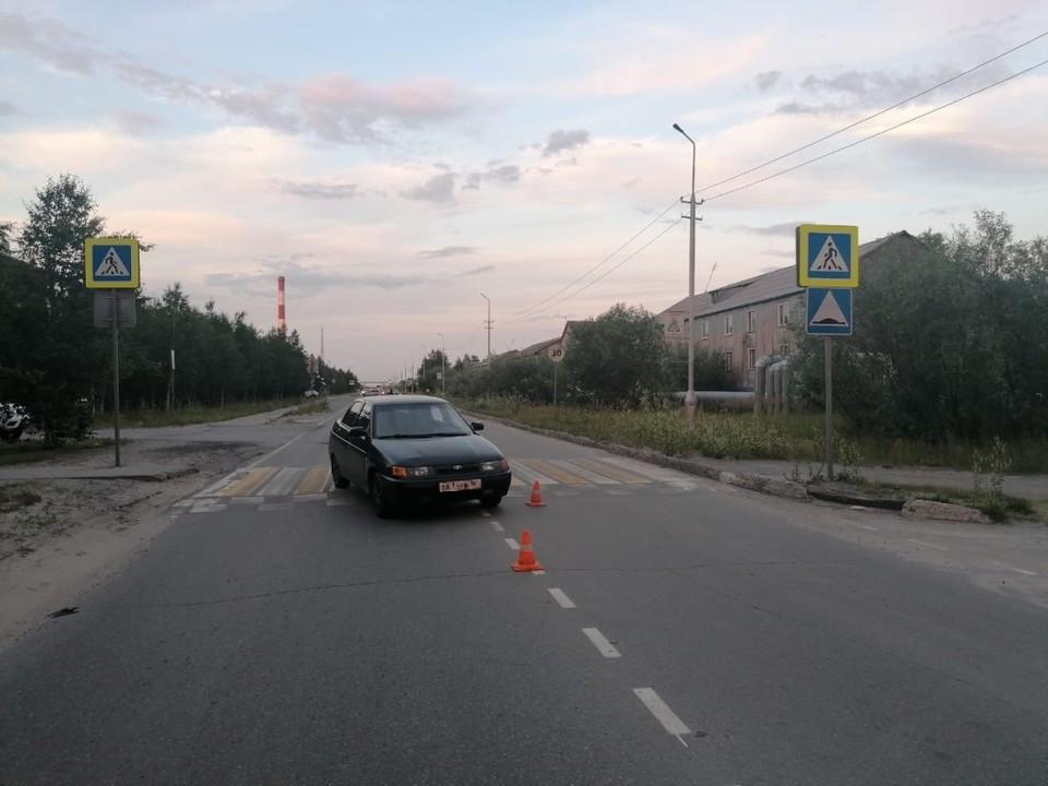 В Югре молодой водитель сбил девочку на пешеходном переходе Фото: ОМВД России по Сургутскому району