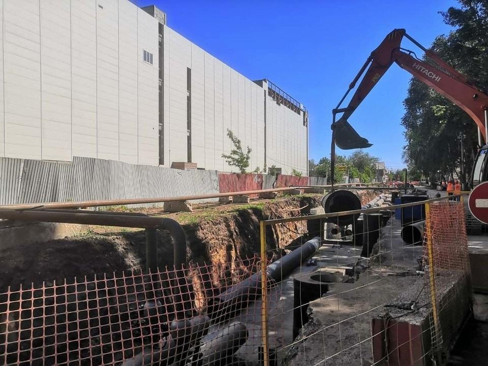 В Самаре продолжается масштабный ремонт теплотрасс