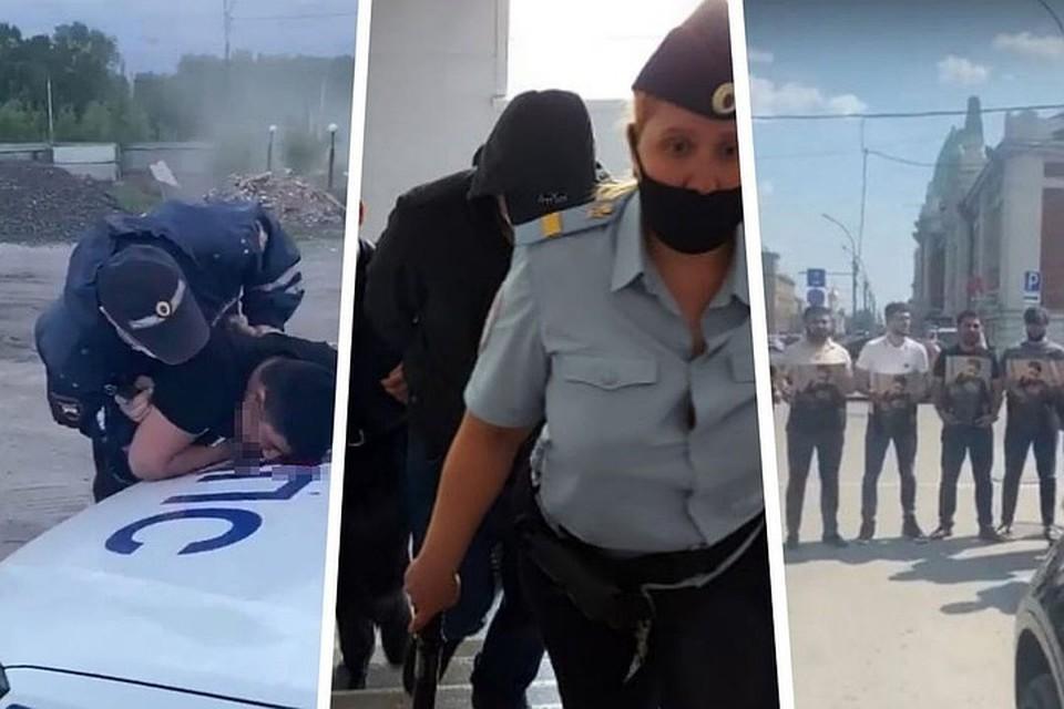Полицейский сейчас находится под подпиской о невыезде. Фото: стоп-кадр с видео Илькина Исмаилова, судебного департамента в Новосибирской области, стоп-кадр с видео группы «В Азербайджане»