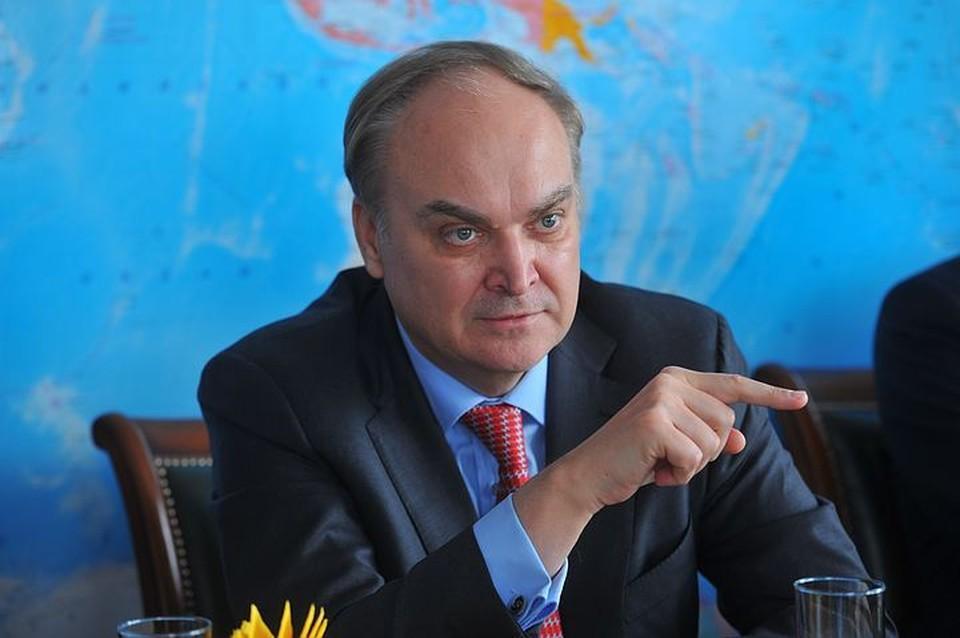 Посол России в Вашингтоне Анатолий Антонов