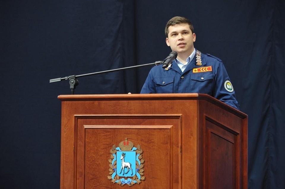 Максим Гнатюк, автор законопроекта о возрождении студенческих отрядов в Самарской области