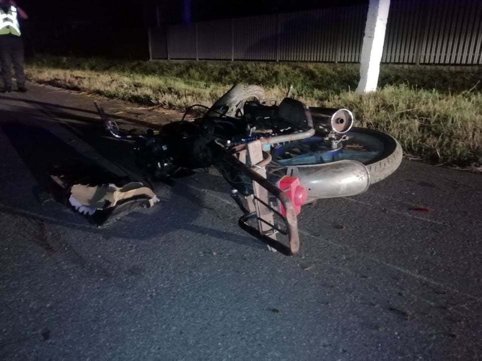 В аварии погиб мотоциклист (Фото: полиция).