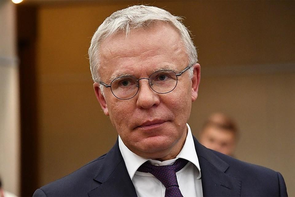 Легенда хоккея, депутат Госдумы РФ Вячеслав Фетисов