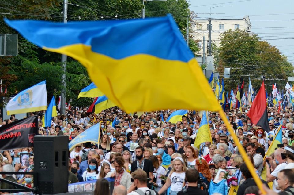 На Украине готовятся с размахом отметить 30–летие Незалежности.