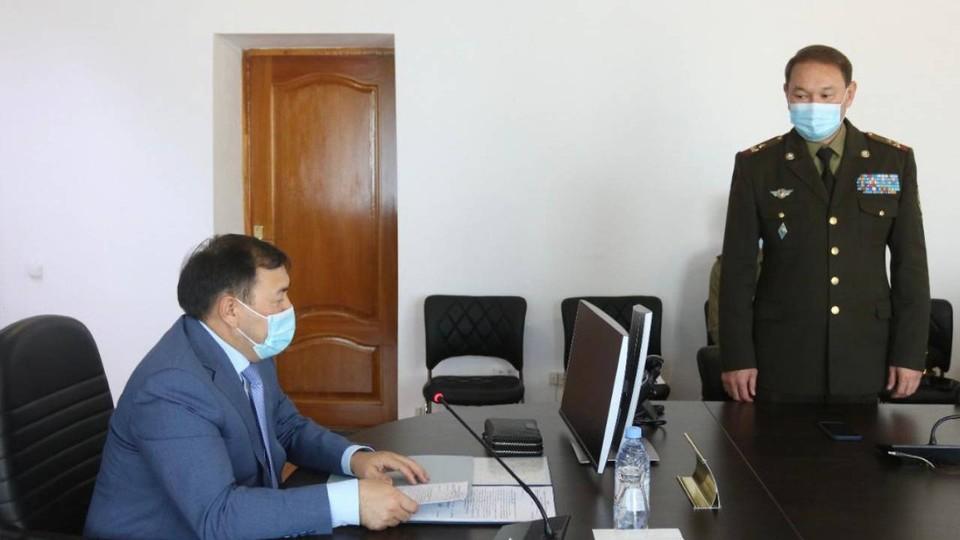 Сабит Битаев получил должность начальника Департамента по чрезвычайным ситуациям Атырауской области