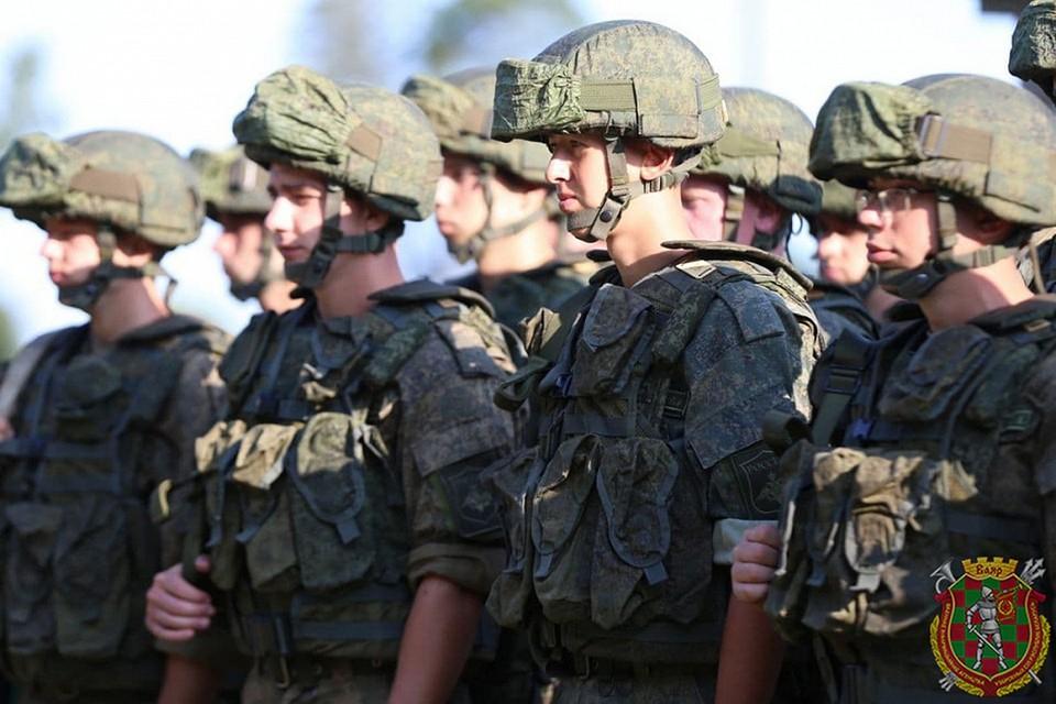 Первый воинский эшелон с военнослужащими и техникой Российской Федерации прибыл в Брест 22 июля. Фото: Максим Гарлукович, Ян Горбанюк «Ваяр».