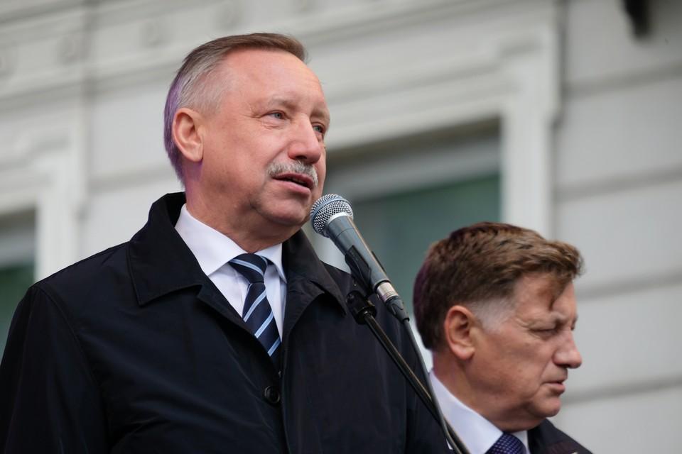 Смольный наградит Беглова и экс-глав Петербурга за заслуги в международном сотрудничестве