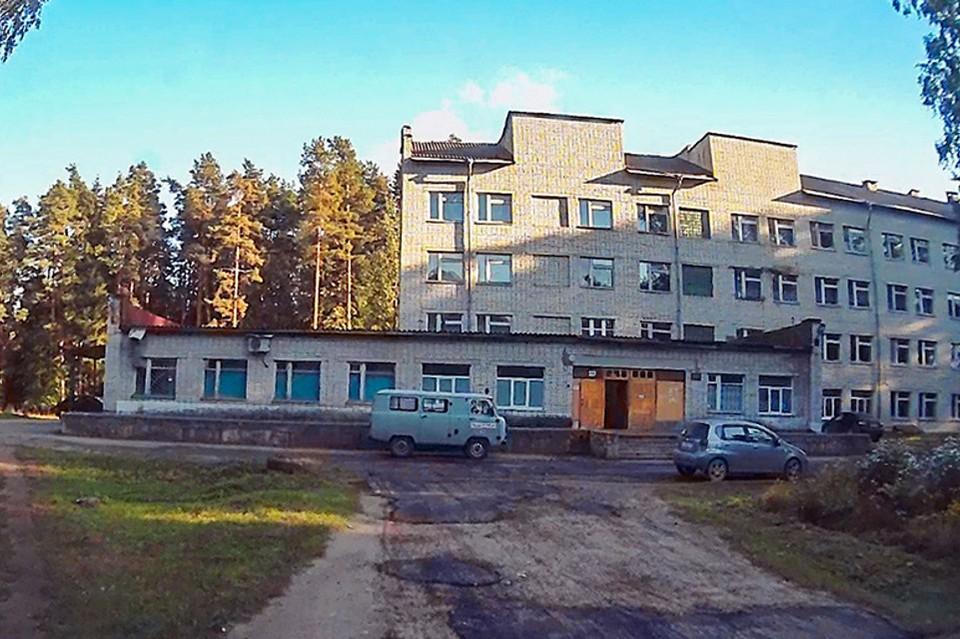 Центральная районная больница в Максатихе. Фото: VK/Живем в Максатихе