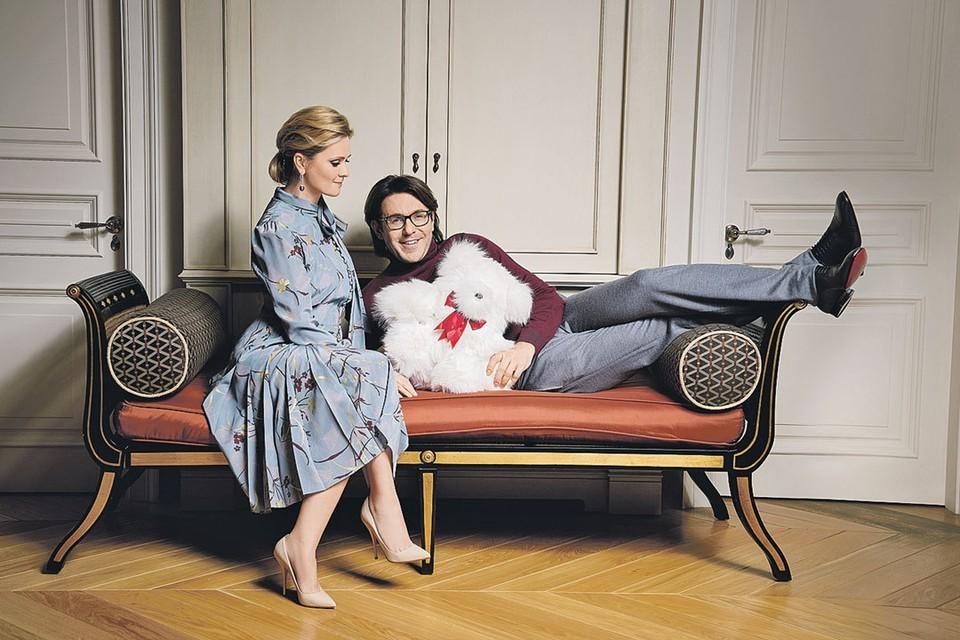 Андрей Малахов с супругой Натальей Шкулевой. Фото: Дмитрий ИСХАКОВ