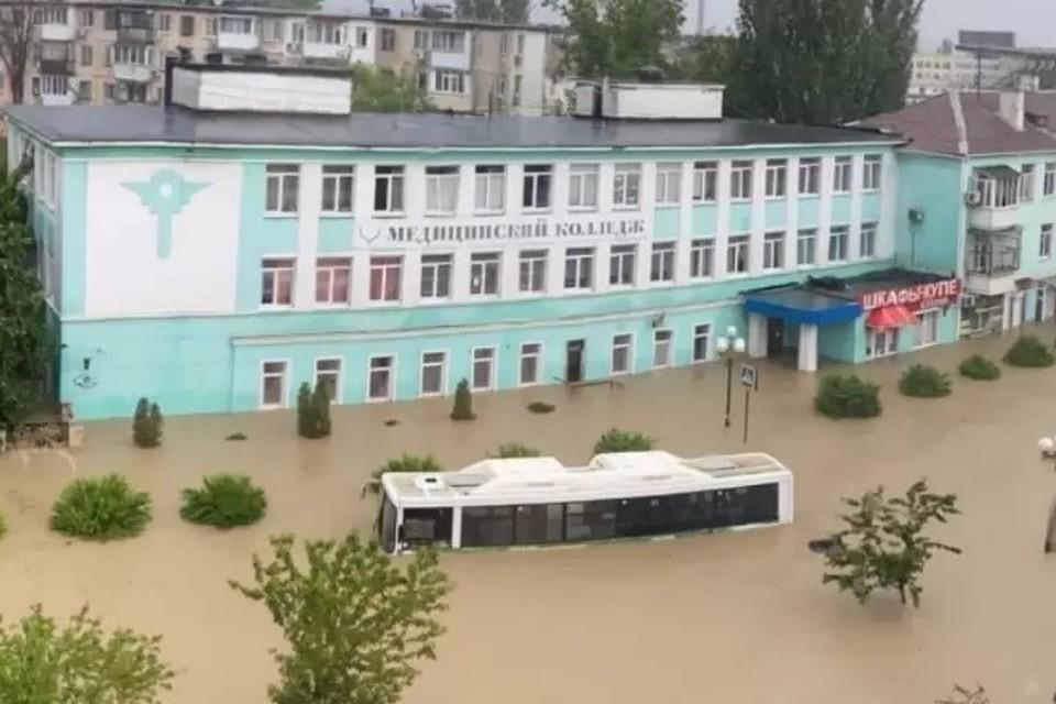 В июне на юге Крыма выпало 350% месячной нормы. Фото: соцсети